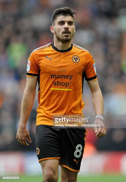 WOLVERHAMPTON ENGLAND APRIL Wolverhampton Wanderers' Ruben Neves during the Sky Bet Championship match between Wolverhampton Wanderers and Birmingham...