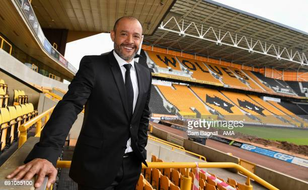 Wolverhampton Wanderers Unveil New Manager Nuno Espirito Santo at Molineux on June 1 2017 in Wolverhampton England