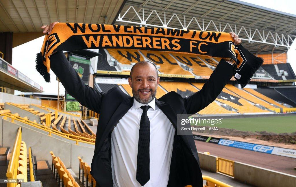 Wolverhampton Wanderers Unveil New Manager Nuno Espirito Santo... : News Photo