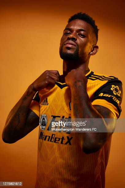 Wolverhampton Wanderers Unveil new signing Nelson Semedo at Molineux on September 22 2020 in Wolverhampton England