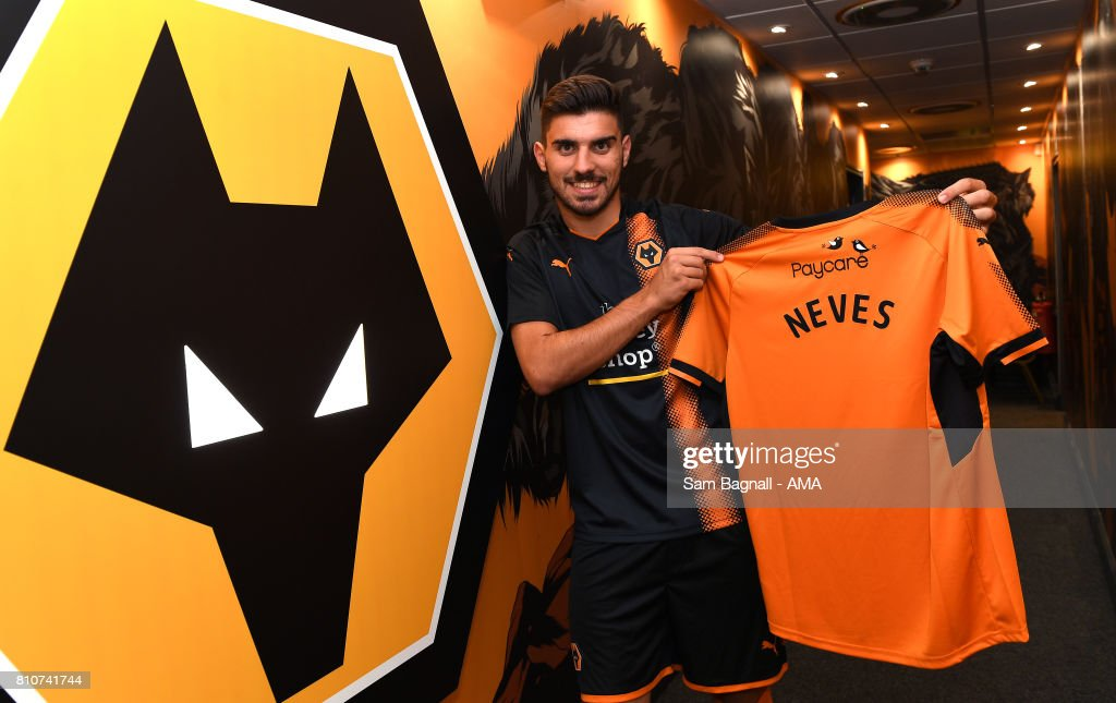Wolves Unveil New Signing Ruben Neves : News Photo