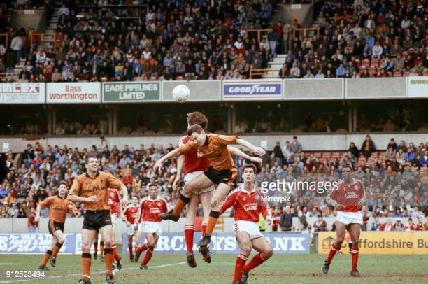 Wolverhampton Wanderers v Middlesbrough, final score 2-1 to Middlesbrough. League Division Two. Molineux Stadium, Wolverhampton, 2nd May 1992.