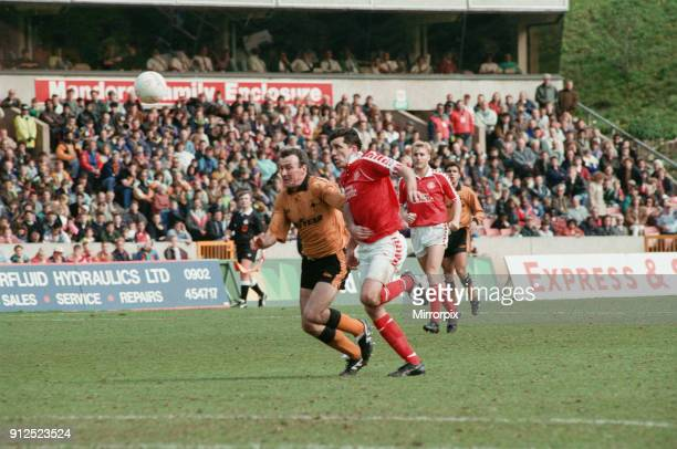 Wolverhampton Wanderers v Middlesbrough final score 21 to Middlesbrough League Division Two Molineux Stadium Wolverhampton 2nd May 1992