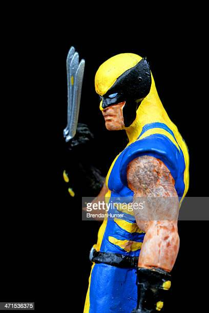 wolverine - x men named work stock pictures, royalty-free photos & images