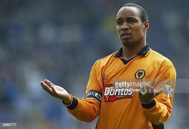 Wolves captain Paul Ince looks dejected during the FA Barclaycard Premiership match between Birmingham City and Wolverhampton Wanderers at St...