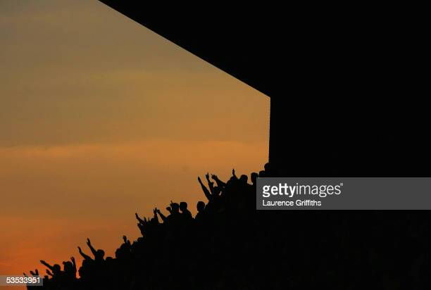 Wolves fans applaud their team during the Coca-Cola Championship match between Wolverhampton Wanderers and Queens Park Rangers at Molineux Stadium on...