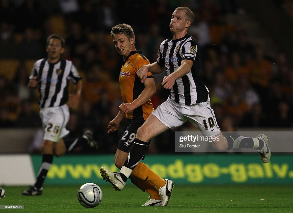 Wolverhampton Wanderers v Notts County - Carling Cup 3rd Round