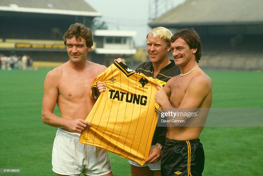 Wolverhampton Wanderers Kit Launch 1982 : News Photo