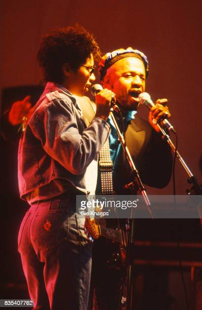 Womack and Womack Cecil and Linda Womack Marktrock Leuven Festival Leuven Belgium