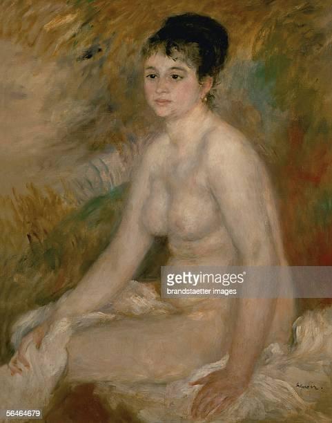 Woman after the bath Oil on canvas 93 x 73 cm [Frau nach dem Bad oel auf Leinwand 93 x 73 cm]