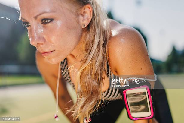 woman after workout. - extra long stock pictures, royalty-free photos & images