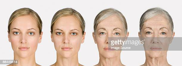 woman aging - young at heart stock pictures, royalty-free photos & images