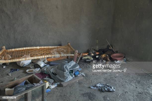 JANUARY 30 2014 A woman and a child shot down inside a house of the district of Marol Photograph Laurent Van der Stockt/Edit by Getty Images