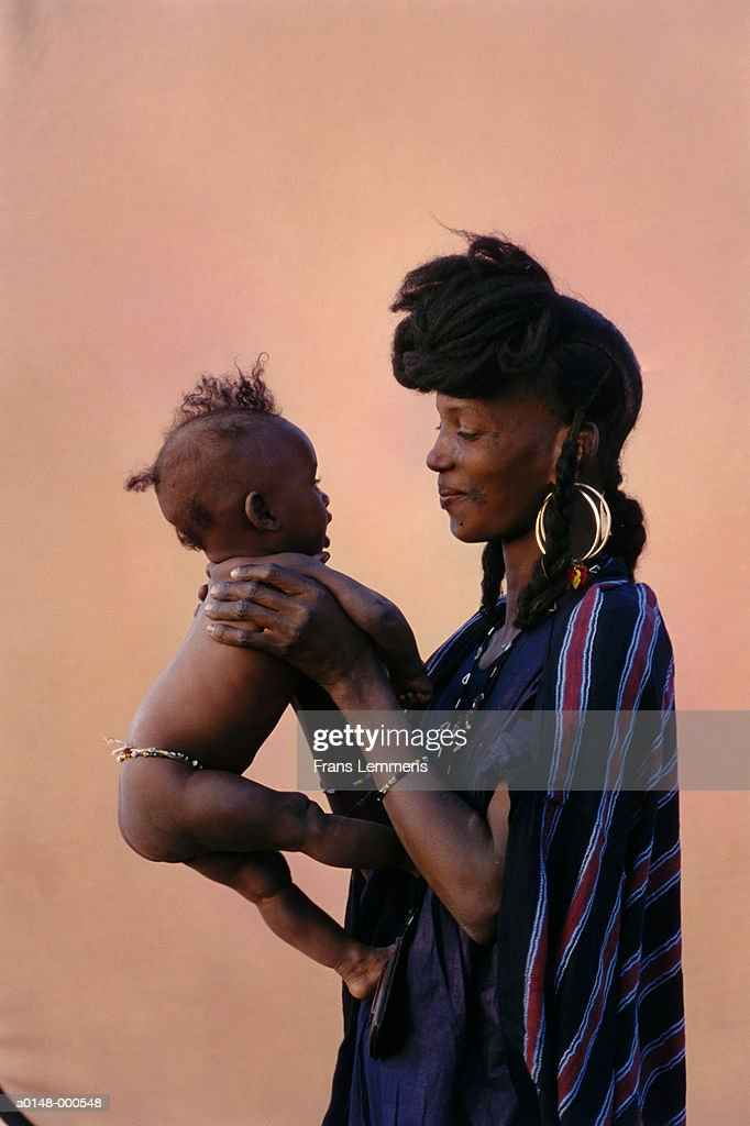 Woman and Baby : Stock Photo