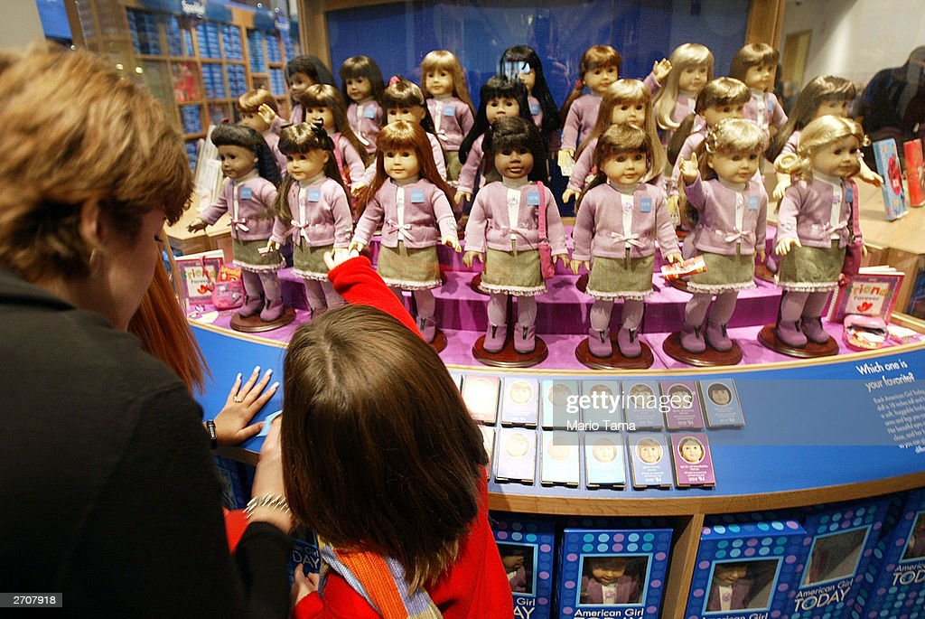American Girl Place New York Opens : News Photo