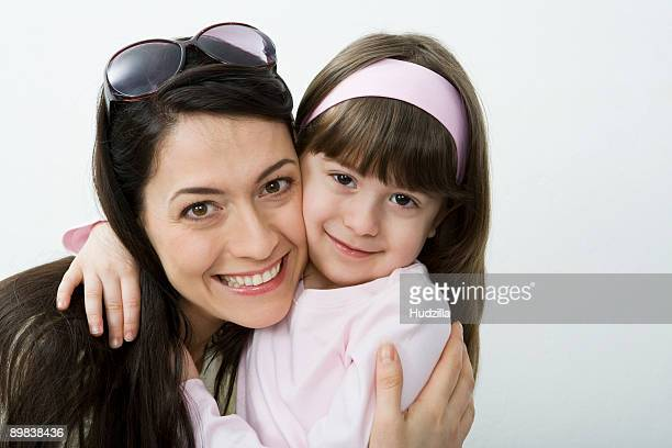 A woman and her daughter, portrait