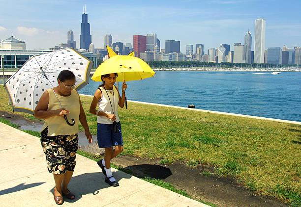 Chicago Under A Heat Warning