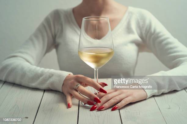 woman and wine - tempio pausania stock pictures, royalty-free photos & images