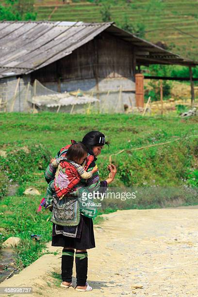 Woman and young baby, Sa Pa, Vietnam