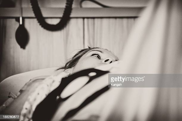 Woman Anticipating Birth
