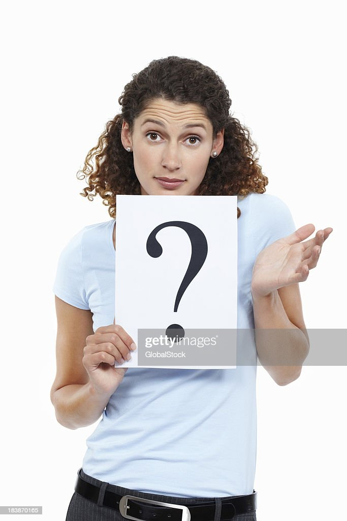 woman asking question stock photo getty images