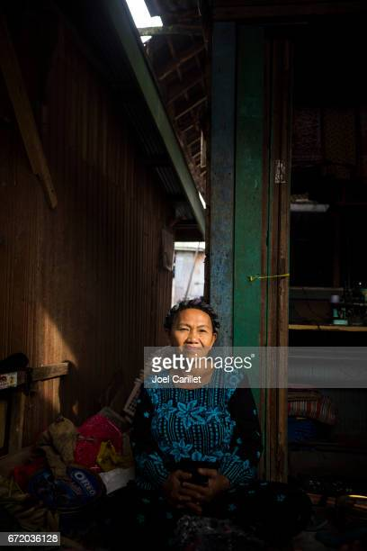 Woman at market in Kumai, Central Kalimantan, Indonesia