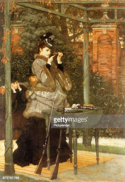 Woman at Rifle Range Tissot James Jacques Joseph 1869