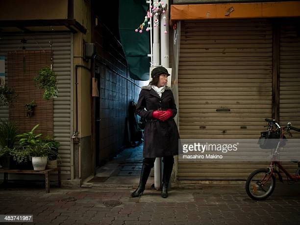 Woman at Shopping Street