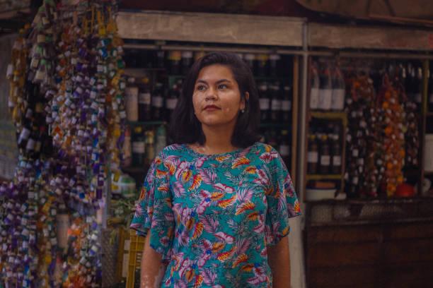 Woman at the market