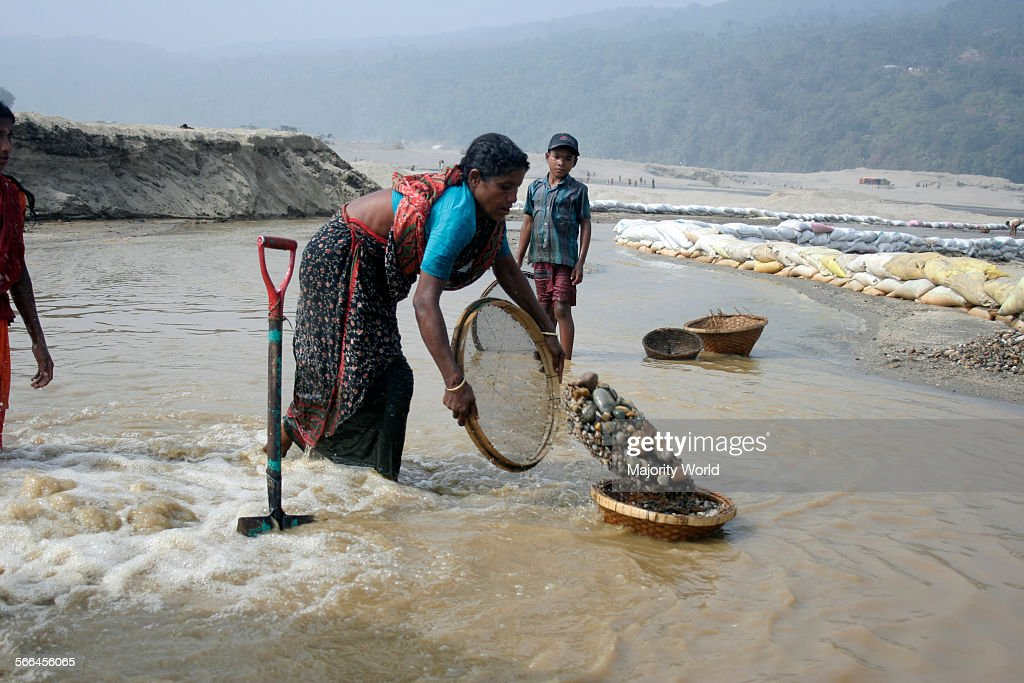 A woman at work : News Photo