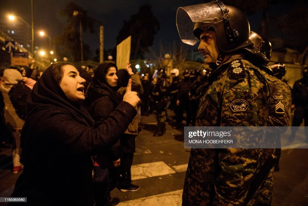 TOPSHOT-IRAN-UKRAINE-CANADA-US-AVIATION : Fotografia de notícias