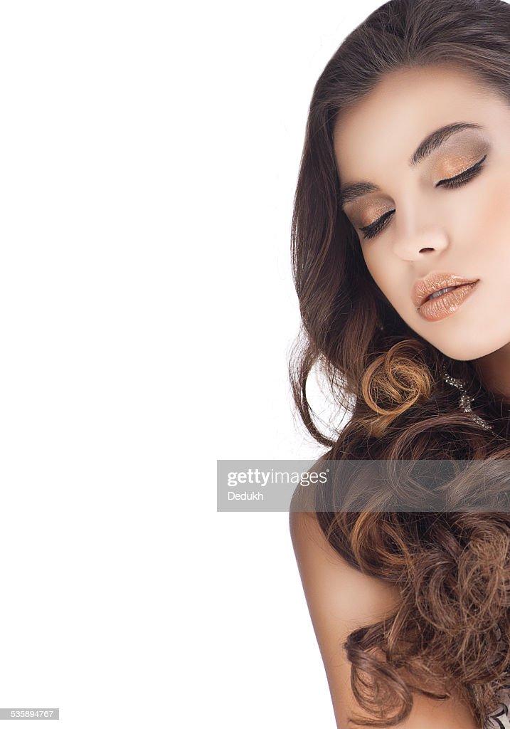 Donna bellezza : Foto stock