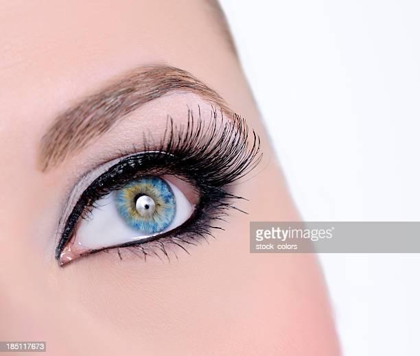 女性青い目の詳細
