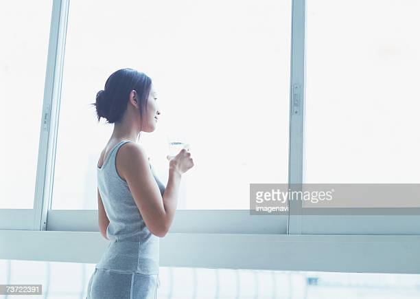Woman by window