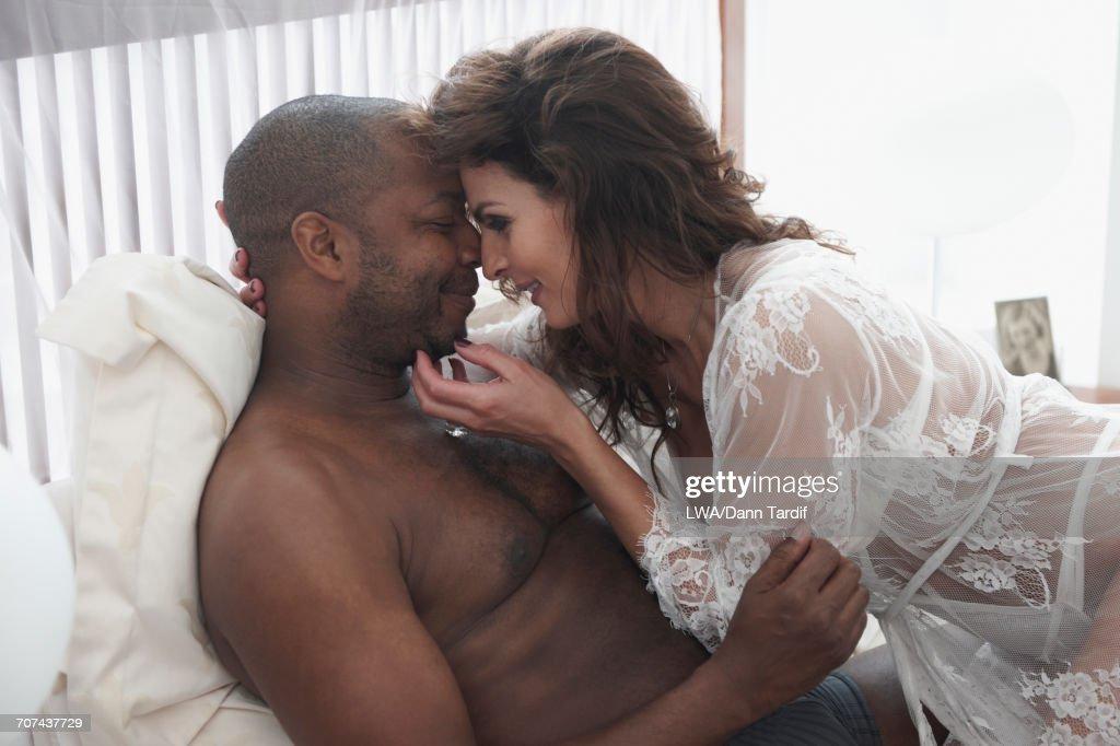 Men caressing men