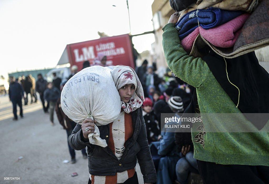 SYRIA-TURKEY-REFUGEES : News Photo