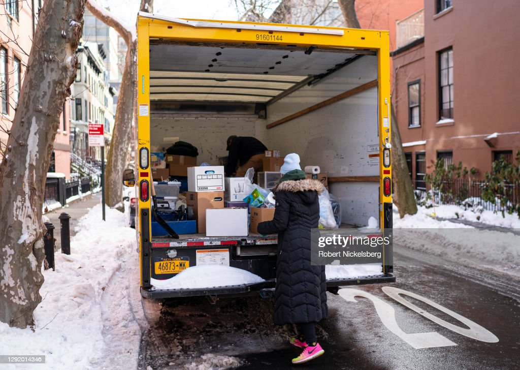 New York City Resident Moves Away For Employment : News Photo