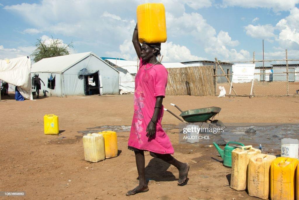 SSUDAN-CONFLICT-IDP : News Photo