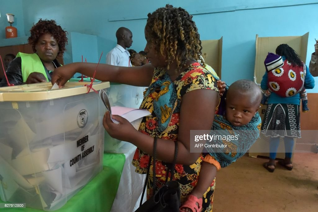 KENYA-VOTE : News Photo