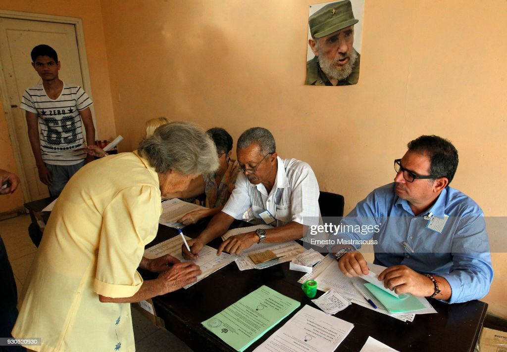 National Assembly Elections in Cuba : News Photo