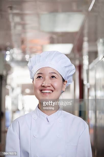 Woman Chef in Her Kitchen