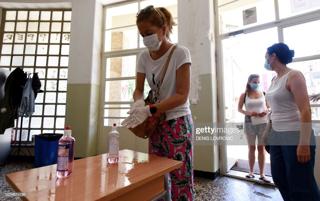 CROATIA-POLITICS-VOTE : News Photo