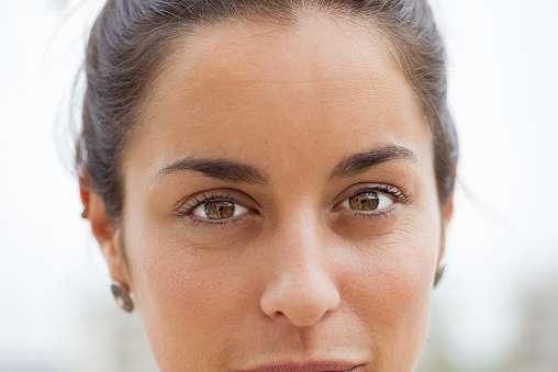 Woman, close-up - gettyimageskorea