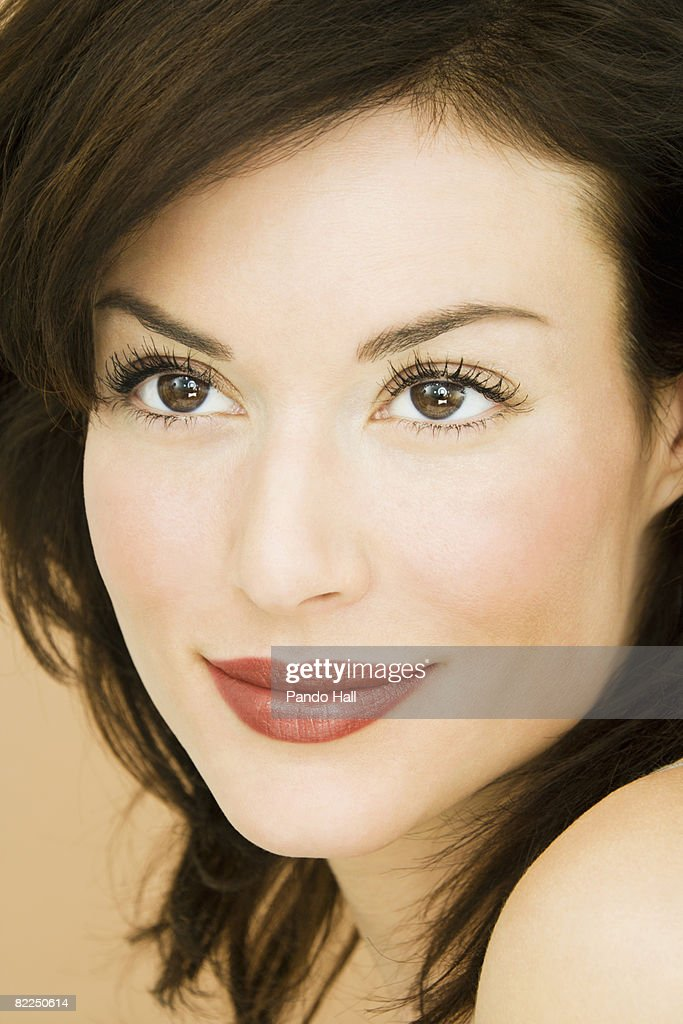 Woman, close-up, portrait : Stock Photo