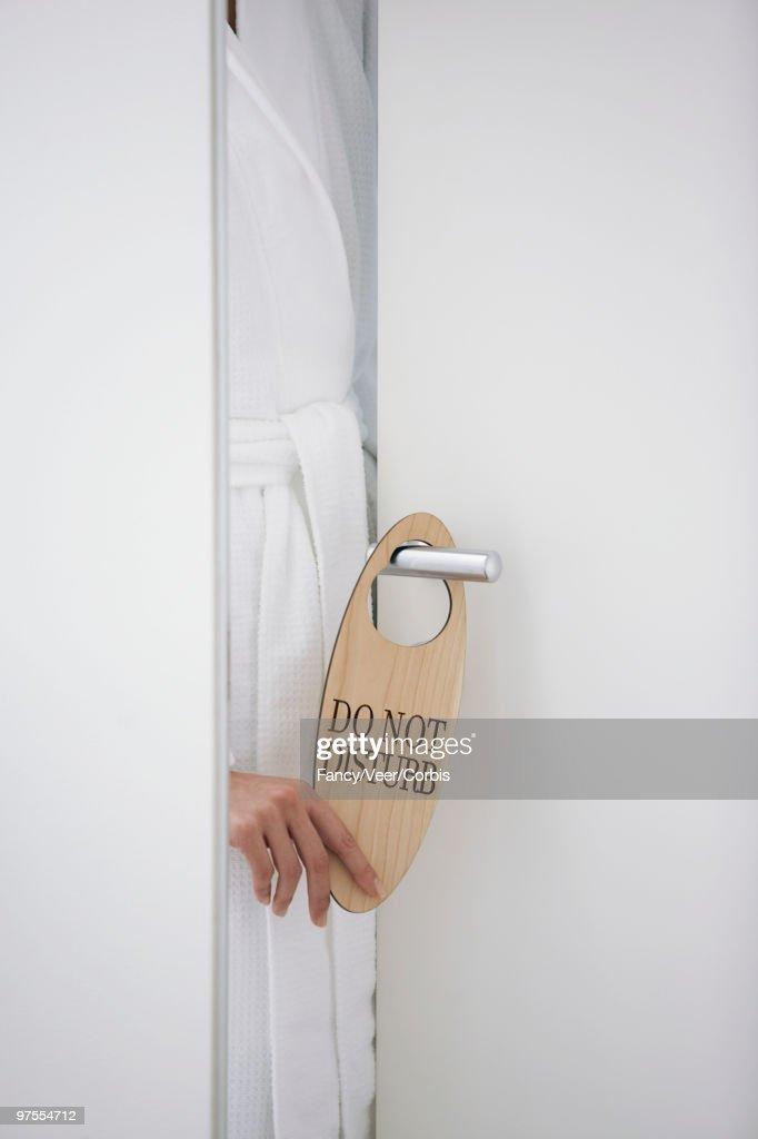 Keywords & Woman Closing Door Stock Photo | Getty Images pezcame.com