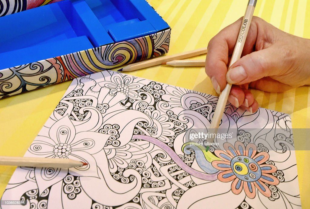 Coloring books for adults Pictures | Getty Images