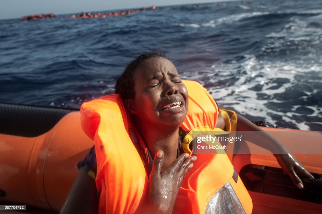 Search And Rescue Enters Peak Season For MOAS Operations : News Photo