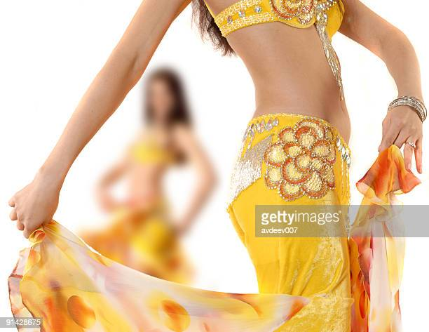 woman dance - belly dancing stock photos and pictures