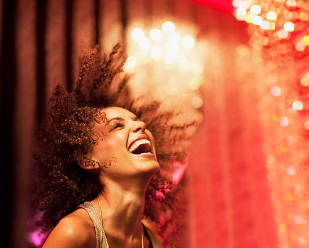 woman dancing at nightclub