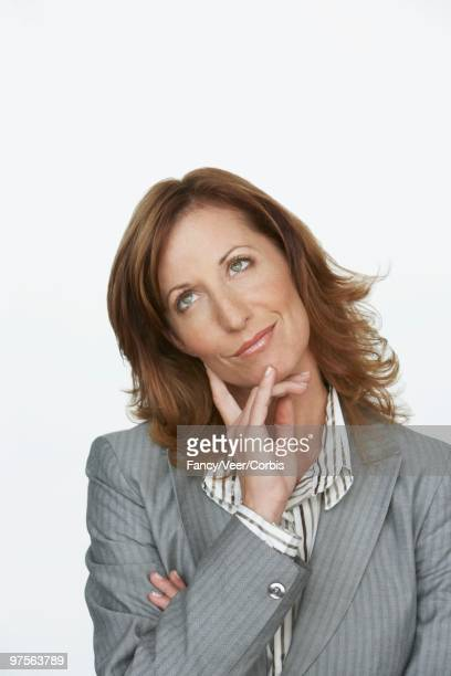 Woman Deliberating